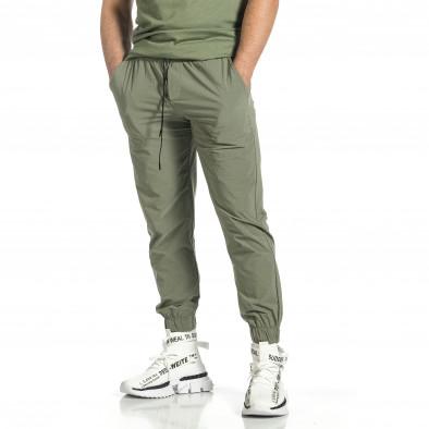 Ανδρική πράσινη φόρμα Breezy tr150521-27 3