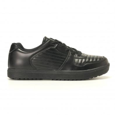 Ανδρικά μαύρα sneakers Flair it020617-7 2