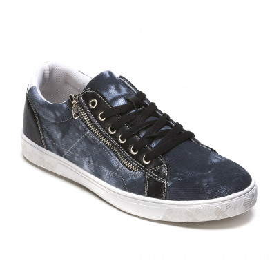 Ανδρικά γαλάζια sneakers Flair It050216-17 3