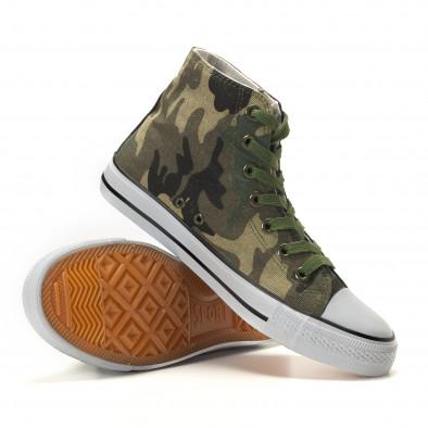 Ανδρικά καμουφλαζ sneakers Osly it260117-31 4