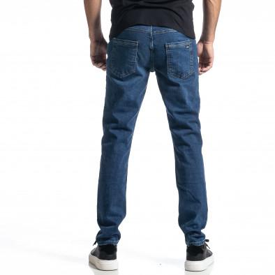 Ανδρικό μπλε τζιν Long Slim tr010221-32 3