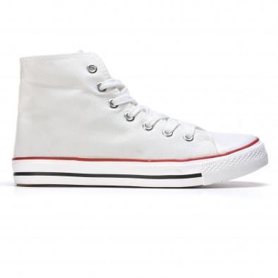 Ανδρικά λευκά sneakers Dilen it170315-9 2