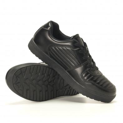 Ανδρικά μαύρα sneakers Flair it020617-7 6