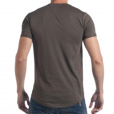 Ανδρική καμουφλαζ κοντομάνικη μπλούζα Breezy tsf090617-25 3