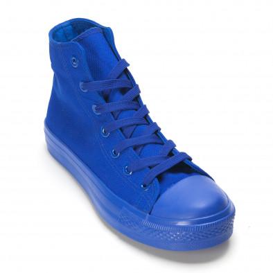 Ανδρικά γαλάζια sneakers Bella Comoda it090616-29 3