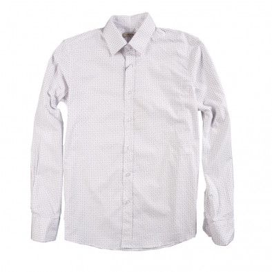 Ανδρικό λευκό πουκάμισο Lagos 080213-5 2