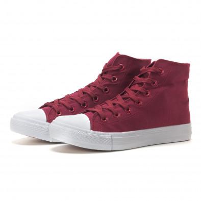 Ανδρικά κόκκινα sneakers Bella Comoda it260117-55 3