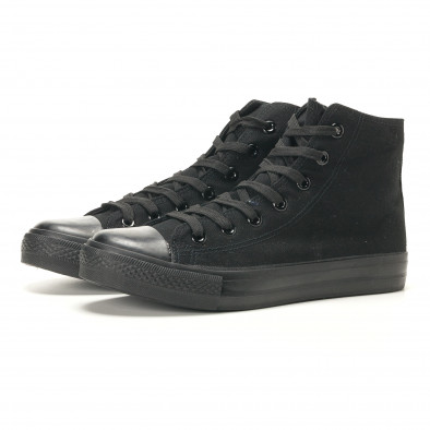 Ανδρικά μαύρα sneakers Bella Comoda it260117-46 3
