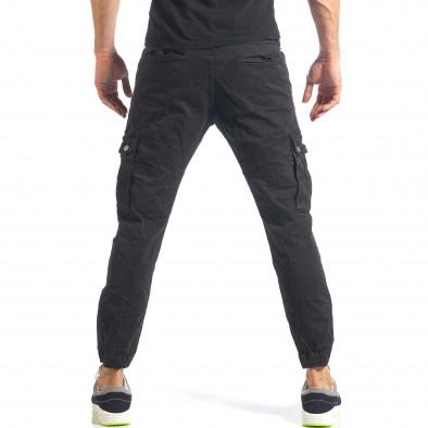 Ανδρικό μαύρο παντελόνι Always Jeans it290118-10 3