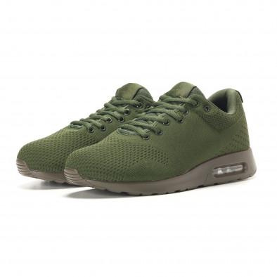 Ανδρικά πράσινα αθλητικά παπούτσια Kiss GoGo it291117-14 3