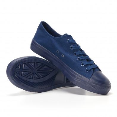 Ανδρικά γαλάζια sneakers Bella Comoda it250118-3 4