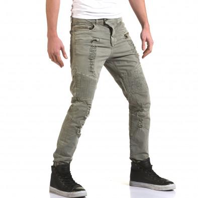 Ανδρικό γκρι παντελόνι Maximal it090216-8 4