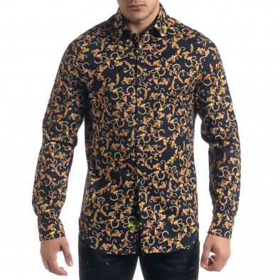 Ανδρικό πολύχρωμο πουκάμισο Open tr110320-96 2