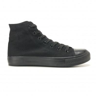 Ανδρικά μαύρα sneakers Bella Comoda it260117-46 2
