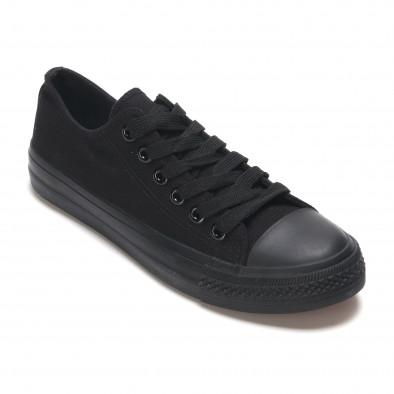 Ανδρικά μαύρα sneakers Bella Comoda it260117-40 3