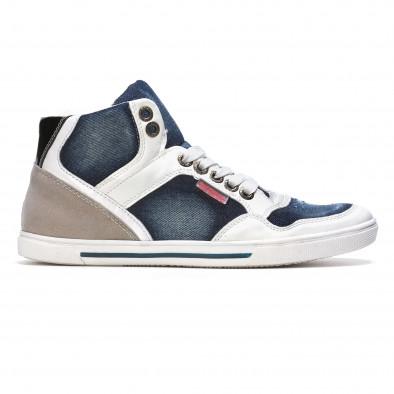 Ανδρικά γαλάζια sneakers Staka It050216-16 2