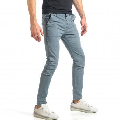 Ανδρικό γαλάζιο παντελόνι XZX-Star it290118-37 4