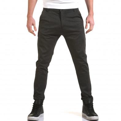 Ανδρικό γκρι παντελόνι Jack Berry it090216-26 2