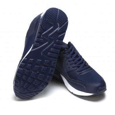 Ανδρικά γαλάζια αθλητικά παπούτσια Fast Lee It050216-6 4