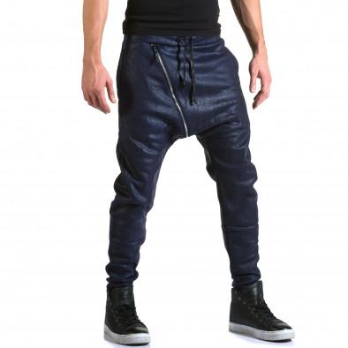 Ανδρικό γαλάζιο παντελόνι jogger Top Star it211015-59 4