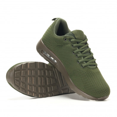Ανδρικά πράσινα αθλητικά παπούτσια Kiss GoGo it291117-14 4