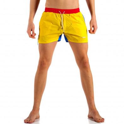 Ανδρικό πολύχρωμο μαγιό Justboy it230415-22 2