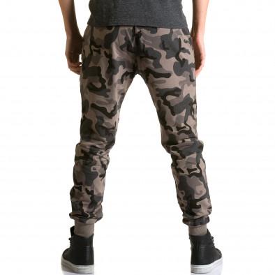 Ανδρικό πράσινο παντελόνι jogger Belmode ca190116-30 3