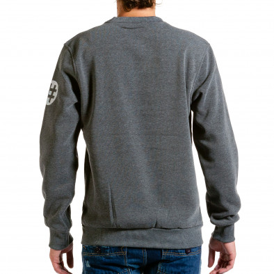 Ανδρική γκρι μπλούζα Aosen hn240815-55 3