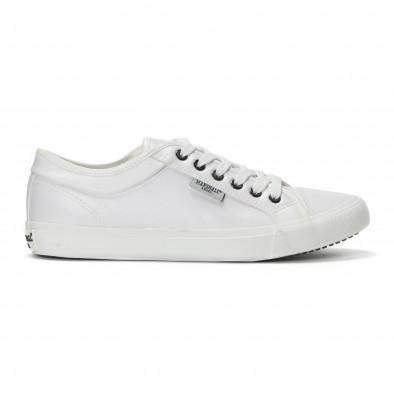 Ανδρικά λευκά basic sneakers  it240418-30 2