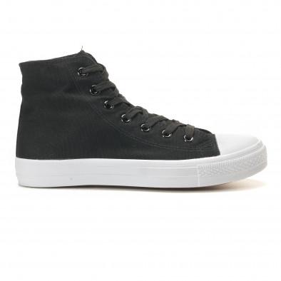 Ανδρικά μαύρα sneakers Bella Comoda it260117-53 4