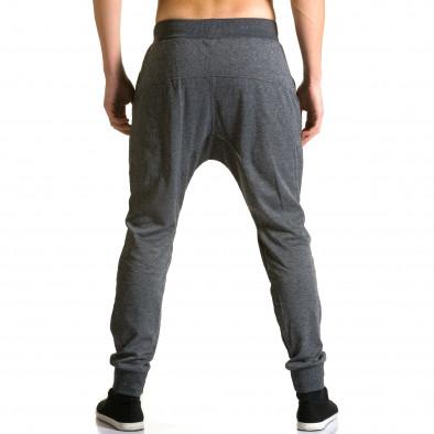 Ανδρικό γκρι παντελόνι jogger Furia Rossa ca190116-18 3