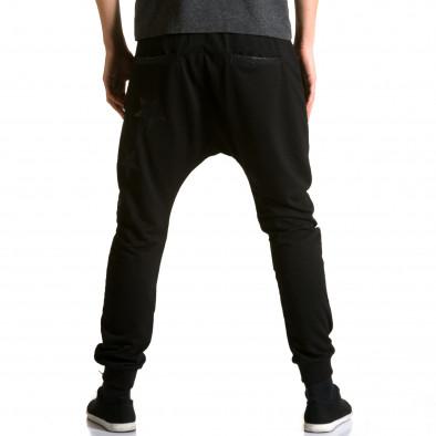 Ανδρικό μαύρο παντελόνι jogger Jack Davis ca190116-21 3