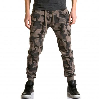 Ανδρικό πράσινο παντελόνι jogger Belmode ca190116-30 2