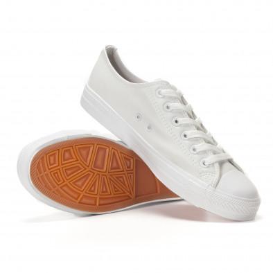 Ανδρικά λευκά sneakers Bella Comoda it250118-4 4