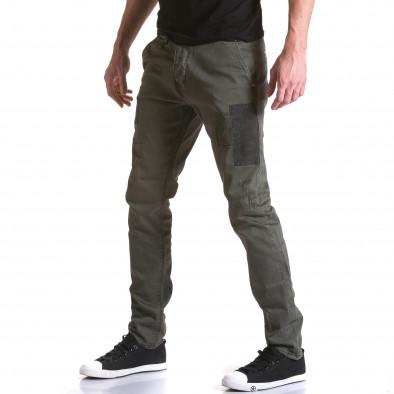 Ανδρικό πράσινο παντελόνι Y-Two it031215-17 4