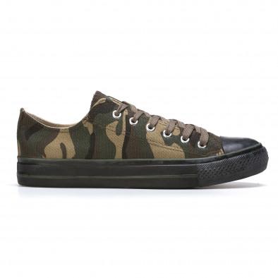 Ανδρικά καμουφλαζ sneakers Mapleaf it210415-23 2