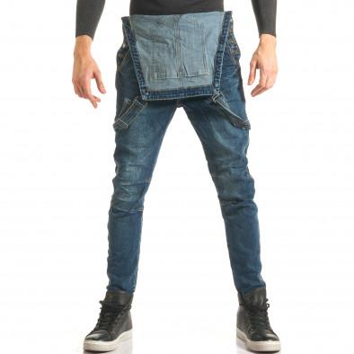 4742edc6c08c Ανδρικό γαλάζιο τζιν σαλοπετα Always Jeans it181116-60 - Fashionmix.gr