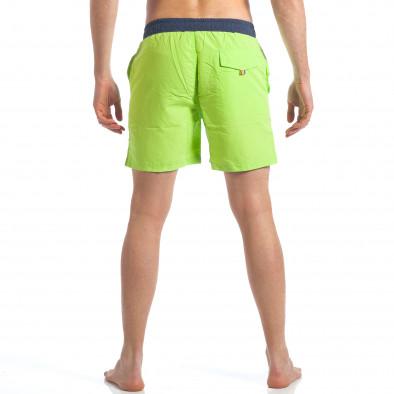 Ανδρικό πράσινο μαγιό Austar Jeans it190417-105 3