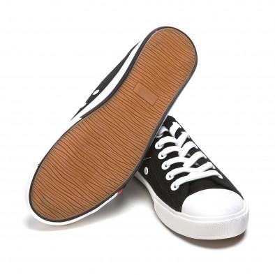 Ανδρικά μαύρα sneakers Max&Li it210415-15 4
