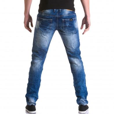 Ανδρικό γαλάζιο τζιν Justing it031215-6 3
