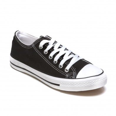 Ανδρικά μαύρα sneakers Dilen It050216-1 3