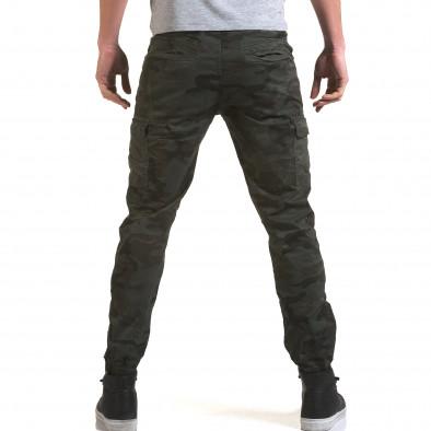 Ανδρικό γκρι παντελόνι Yes Design it090216-12 3