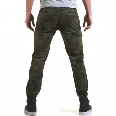 Ανδρικό πράσινο παντελόνι Yes Design it090216-11 3