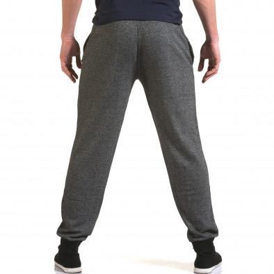 Ανδρικό γκρι παντελόνι jogger Eadae Wear it090216-52 3