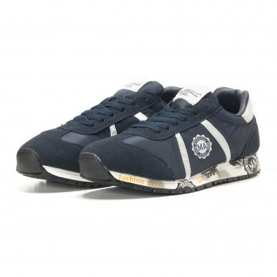 Ανδρικά γαλάζια αθλητικά παπούτσια Marshall it291117-37 3