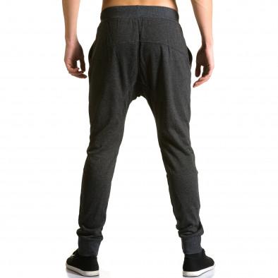 Ανδρικό μαύρο παντελόνι jogger Furia Rossa ca190116-19 3