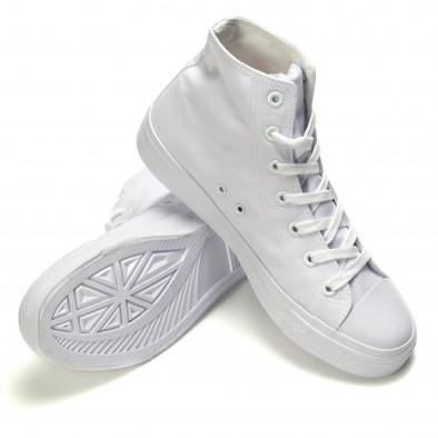 Ανδρικά λευκά sneakers Bella Comoda it260117-35 4