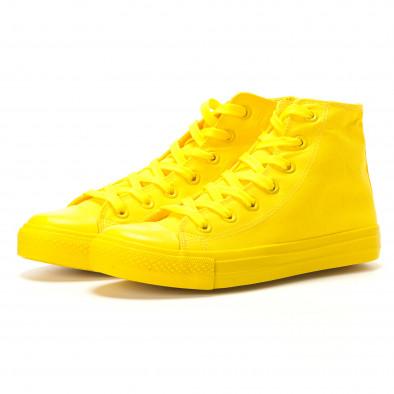 Ανδρικά κίτρινα sneakers Bella Comoda it260117-36 3