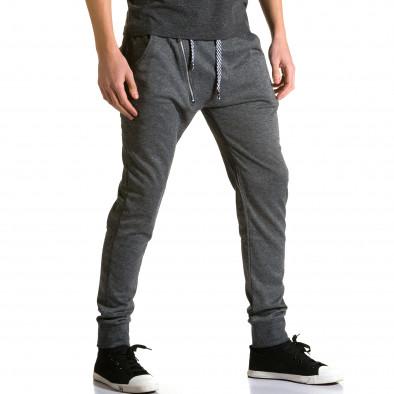 Ανδρικό γκρι παντελόνι jogger Furia Rossa ca190116-15 4