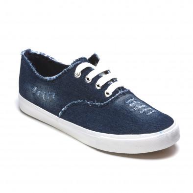 Ανδρικά γαλάζια sneakers Gira Sole It050216-19 3
